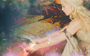 Game of Thrones - Khaleesi Wallpaper by Viciousdope