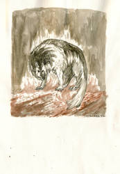 Wulf Beornan, Baernan by Pen-scribble