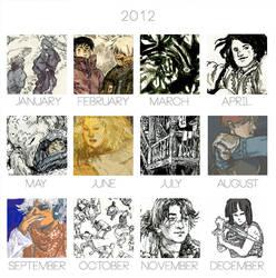 2012 Art Summary by Pen-scribble