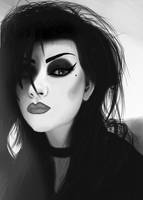 goth girl by creationbegins