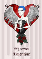 My sweet Valentine  by creationbegins
