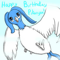 Happy Birthday Pikanyaa! by VampireSessh