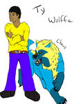 Ty Wolffe and Chewy by VampireSessh