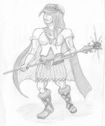 Fantasy Princess Warrior by firefly-R