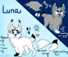 Luna - 2016 ref by XxLunaWarriorxX