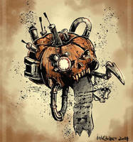 Servo Pumpkin by TomisJB