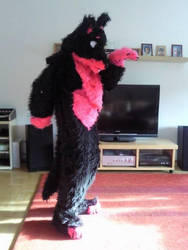 My first fursuit by lulululi
