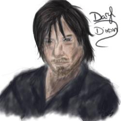 Daryl Dixon by lulululi