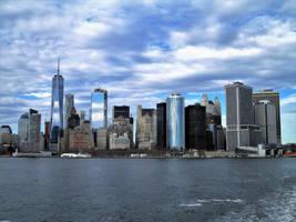 Lower Manhattan Skyline by mit19237