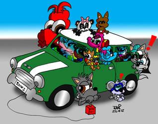 Carsick by JimmyCartoonist