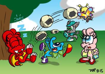 Football Crazy by JimmyCartoonist