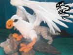 Grifo (Griffin) Amigurumi. by LGhost