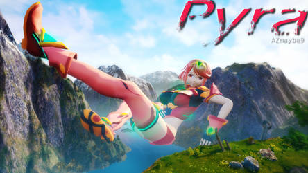 UE4 Giantess Pyra (Sound Added) by azmaybe9