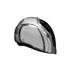 + Futuristic Biker helmet side profile + by WilhelmE