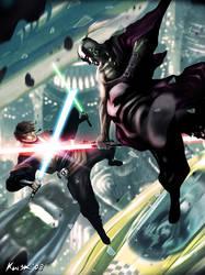 Jedi Vs Sith: Coruscant by kw3k
