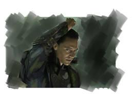 Loki  Avengers by LadyMintLeaf