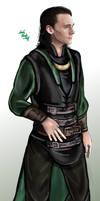 Loki Asgard-Vanaheim suit by LadyMintLeaf