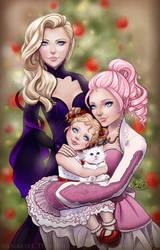 Iris, Angel, and Amber by Vanaliel
