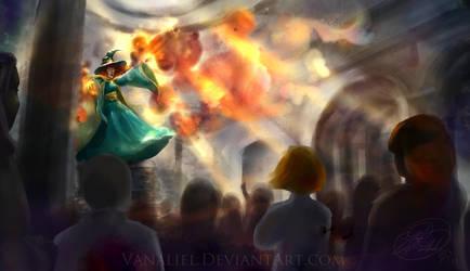 The Professor's Demonstration by Vanaliel