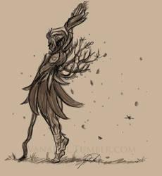 Enaidde Sketch by Vanaliel