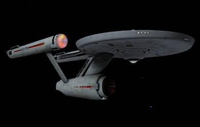 USS Enterprise Ship's Portrait by viperaviator