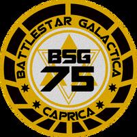 Old Meets New Battlestar Galatica Insignia by viperaviator