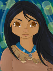 Pocahontas by PTElephant