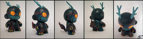 Dragon Munny by konako