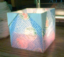 Origami Cube Candle by 1sand0s