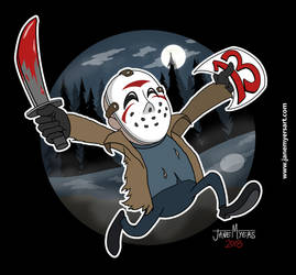 Friday the 13th by janemyers