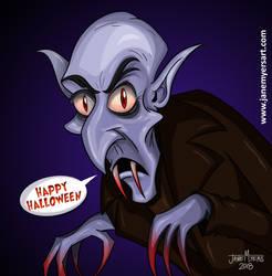 Cartoon Nosferatu by janemyers