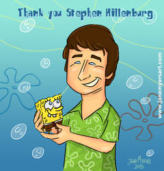 Thank you Stephen Hillenburg by janemyers