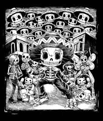 Samba De Los Muertos by spacecoyote