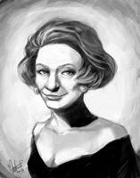 Edna Krabappel by spacecoyote