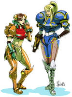 Chun-Li Samus Swap by spacecoyote