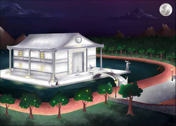 The House of the Lights by Shoko-art