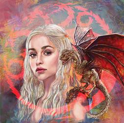 Daenerys Targaryen by Pasuteru-Usagi