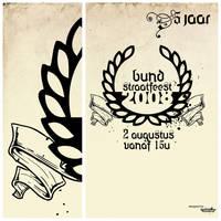 Bund Straatfeest 2008 Poster by davelancel
