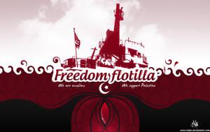 Freedom flotilla 2 by Telpo