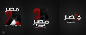 Egypt 25 Logo 1st by Telpo