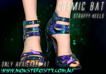Cosmic Bat, heels. by ArtificialFlav0ur