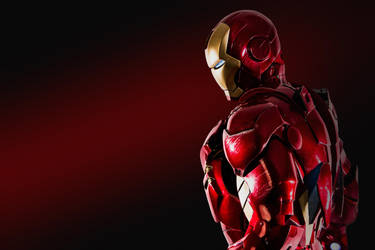 Iron Man: Contrast by SpenceOlson