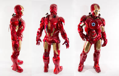 Iron Man: 360 by SpenceOlson