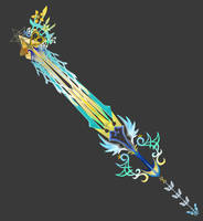 [Model Preview] Ultima Weapon - 'Ambrosia' (Edit) by makaihana975