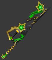[Model preview] Ventus's Keyblade - ExusiaSword by makaihana975
