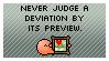 Never Judge A Deviation... by piekid