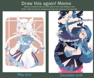 Draw This Again 2018 by DoodleBunni