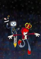 Queen of Robots by DrSalt