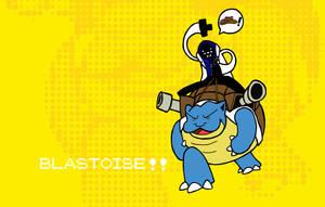 Fuck Yeh Blastoise by DrSalt