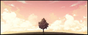 Lone tree by Eugene-Siryk